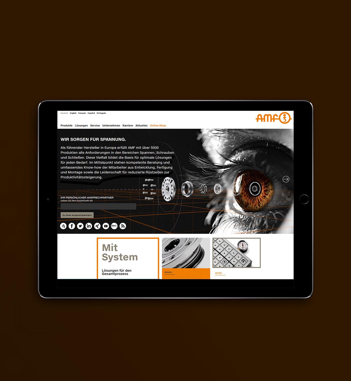 AMF - Projekt der Internetagentur NO TINS Gmbh