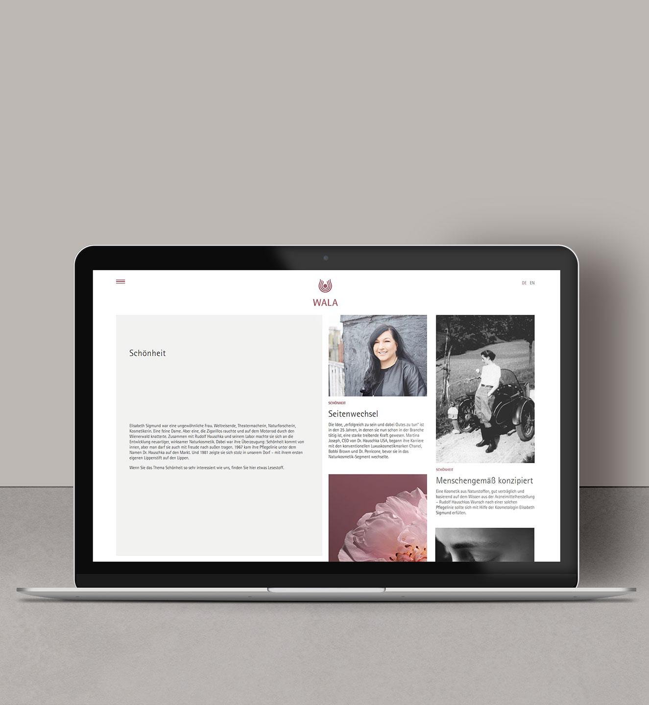 WALA Heilmittel GmbH - Projekt der Internetagentur NO TINS Gmbh